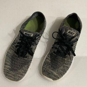Nike Free Flyknit shoes size 8